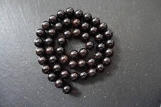 Korálky - Drevená korálka 6-8-M19-3 (8mm) - 10740236_