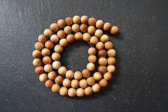 Korálky - Drevená korálka 6 M19-5 - 10740254_