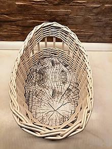 Košíky - Pletená ošatka na chlebík - 10741621_