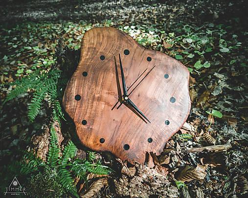 RAW Resin 3 - Teakové drevené hodiny