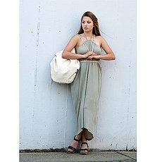 Šaty - Šedozelené 4 šaty v 1 sukni - 10741843_