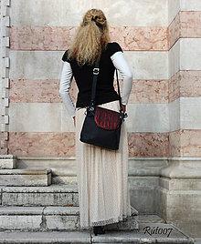 Kabelky - kožená kabelka Elegant bag - 10741458_