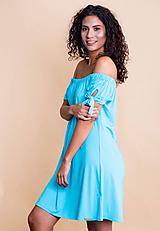 Šaty - šaty off shoulder - 10741492_