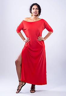 Šaty - dlhé šaty - 10739908_
