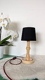 Svietidlá a sviečky - Drevená lampa Júlia - 10741127_