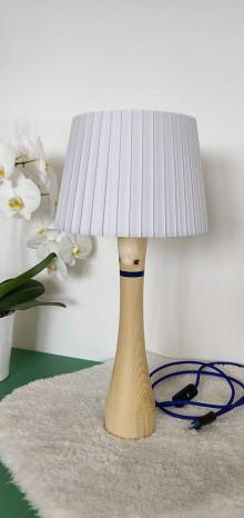 Svietidlá a sviečky - Drevená lampa Eifel - 10741351_