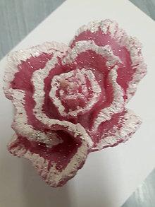 Drobnosti - ľadová ruža - 10744641_