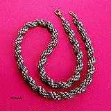 Náhrdelníky - Korálkový náhrdelník 589-0053 - 10744352_