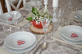 Darčeky pre svadobčanov - Magnetky červené pre hostí - 10743979_