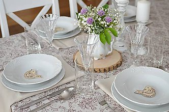 Darčeky pre svadobčanov - Vtáčik magnetka - 10744055_
