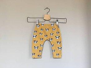 Detské oblečenie - Legíny Panda - 10742452_