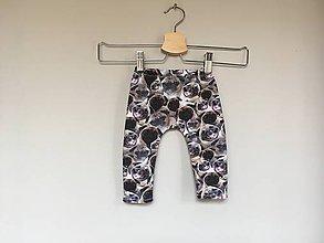 Detské oblečenie - Legíny Mops - 10742471_