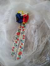 Pierka - svadobné pierko pre rodičov s lúčnymi kvetmi - 10744060_