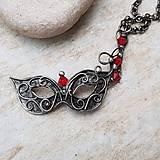 Náhrdelníky - VENETIAN Mask náhrdelník - 10743924_