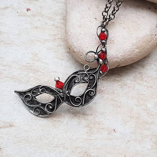 VENETIAN Mask náhrdelník