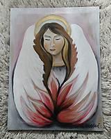 Obrazy - Anjelik pre šťastie - 10743707_