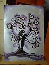 Obrazy - Svadobný strom - 10743888_