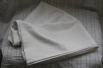 Textil - Látka. Biely úplet. - 10743702_