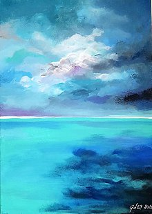Obrazy - Ticho pred búrkou - 10742878_