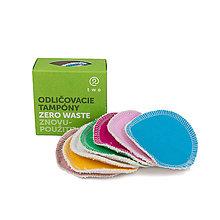 Úžitkový textil - Zero waste odličovacie tampóny - 10744571_