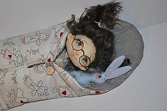 Hračky - Spacáčik pre bábiku - anjelíčkový - 10744173_