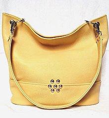 Kabelky - Kožená kabelka Lilly - 10743726_