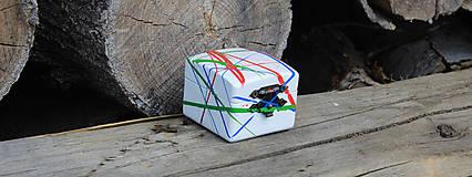 Prstene - Krabička na zásnubný prsten - 10743779_