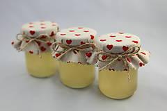 Darčeky pre svadobčanov - Zdobený medík - svadobný minimedík - 10744000_
