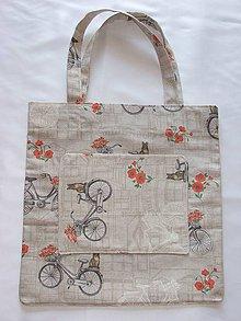 Nákupné tašky - Taška  - bicykel - 10742338_