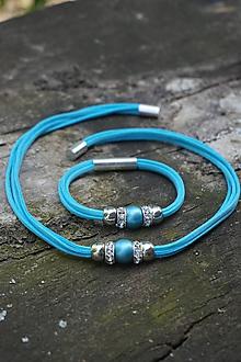 Sady šperkov - Súprava náhrdelník + náramok - 10743885_