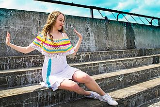 Šaty - Plážové šaty akcia - 10743381_