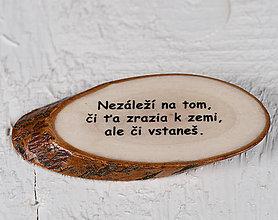Magnetky - Magnetka - citát - Nezáleží na tom... - 10742401_