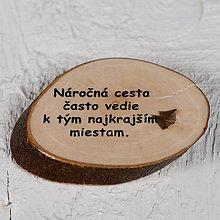 Magnetky - Magnetka - citát - Náročná cesta... - 10742446_