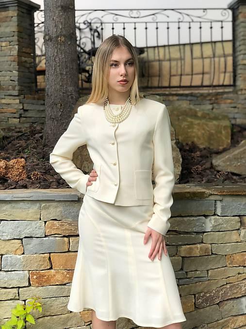 9e5ae60628 Vlnená sukňa alla Chanel   PLZR - SAShE.sk - Handmade Sukne