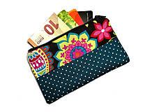 Peňaženky - taštička do kabelky 14,5x8,5cm - 10743605_