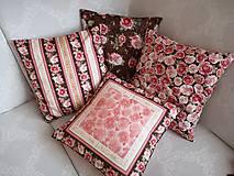 Úžitkový textil - Vankúše Rosehill - 10742969_