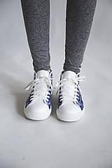 Obuv - Folky blue tenisky - 10743260_