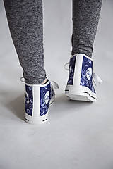 Obuv - Folky blue tenisky - 10743265_