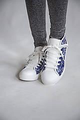 Obuv - Folky blue tenisky - 10743266_
