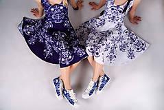 Obuv - Folky blue tenisky - 10743310_