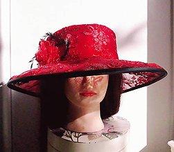 Čiapky - Spoločenský klobúk - 10743712_