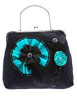 Kabelky - gothic dámská, kabelka spoločenská čipková kabelka čierná G1 (Šedá) - 10748468_