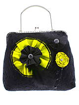 Kabelky - gothic dámská, kabelka spoločenská čipková kabelka čierná G1 (Šedá) - 10748471_