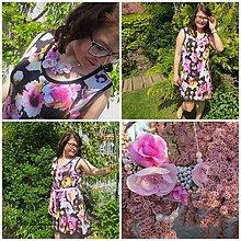 Šaty - Letné šaty s náhrdelníkom ... - 10744781_