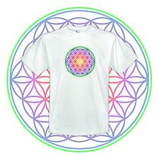 Tričká - tričko Kvet života - 10744678_