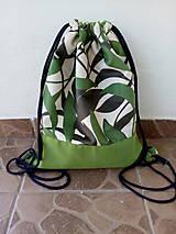 Batohy - Batoh zelený 3 - 10747670_
