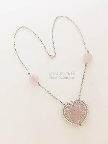 Náhrdelníky - Čipkovaný náhrdelník - 10747566_