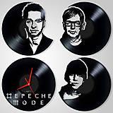 Hodiny - DEPECHE MODE - séria 4 ks LP (vinyl clocks / hodiny) - 10746176_