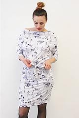 Šaty - VARIA Listnatá - šaty - 10747318_
