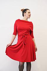 Šaty - VIKA Rubínová - šaty - 10747428_